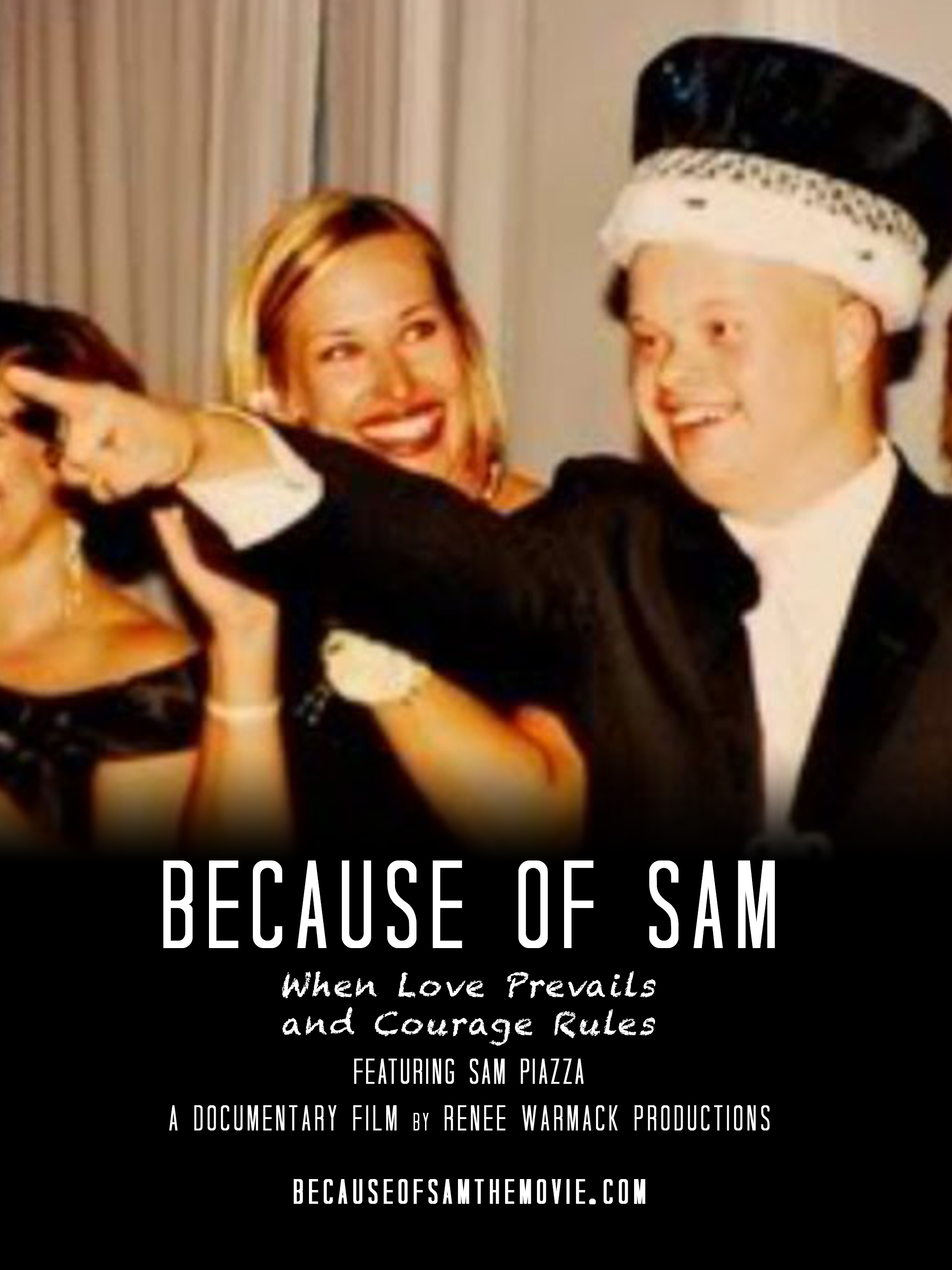 Movie poster for Because of Sam