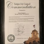 Tampa City Council Commendation