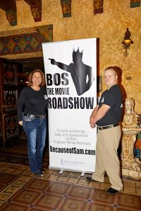 Sam Piazza and Renee Warmack - Book your Roadshow TODAY for Because of Sam