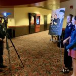 AMC The Regency 20 Theatres Community Screening of Because of Sam - Director Renee Warmack interviewing film attendees about the film