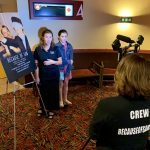 AMC The Regency 20 Theatres Community Screening of Because of Sam - Film attendees tell director Renee Warmack how the film has impacted their lives - they have seen it 3 times
