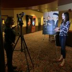 AMC The Regency 20 Theatres Community Screening of Because of Sam - Renee Warmack interviewing Miss Pennsylvania USA Kailyn Marie Perez about seeing the movie