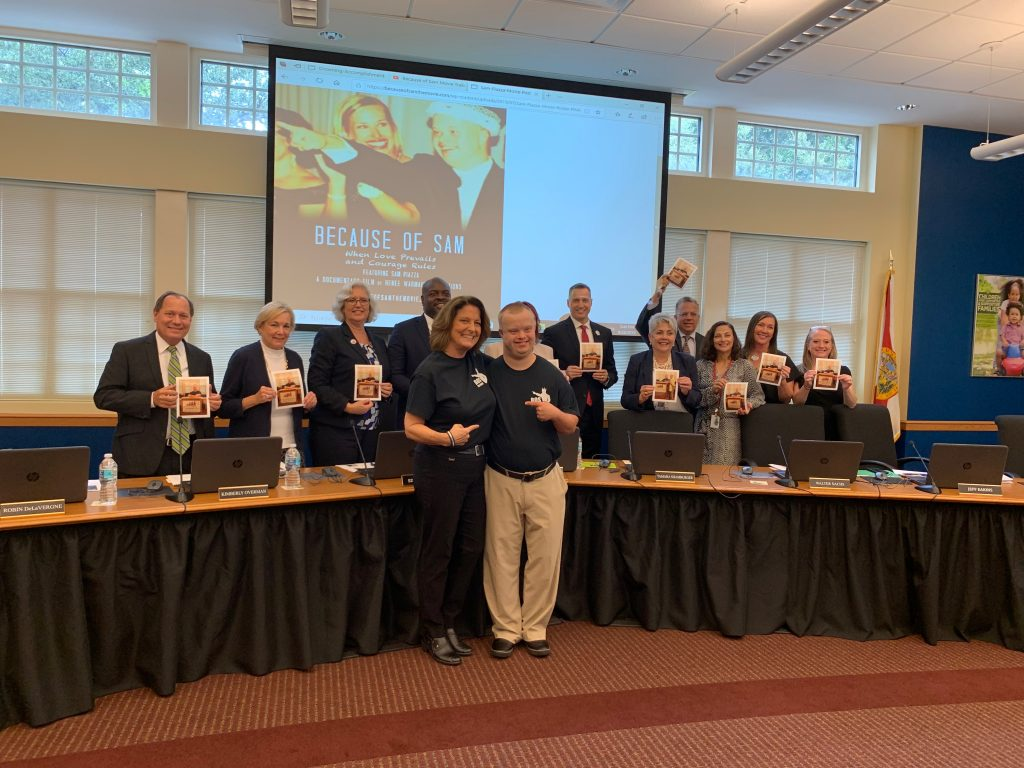 Presentation of Because of Sam to Children's Board _0013