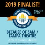 Urban Excellence Awards - Because of Sam is a 2019 Finalist