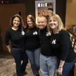 Renee Warmack, Tammy Roebuck, Sam Piazza, Sandi Eveleth at the screening of Because of Sam at The Villagio Cinemas in Carrollwood