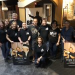 The Piazza family, Tammy Roebuck, Sandi Eveleth, Renee Warmack, and friends at the screening of Because of Sam at The Villagio Cinemas in Carrollwood