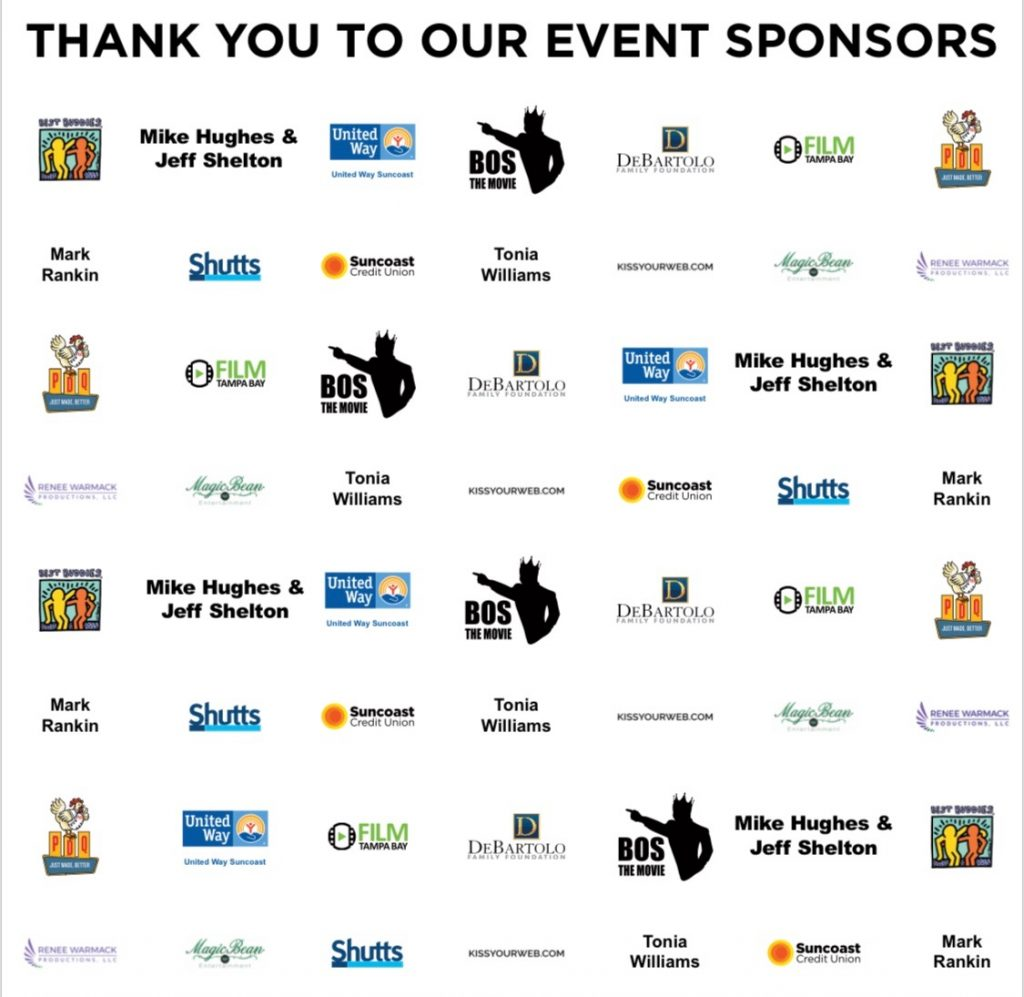 Tampa Theatre First Look Screening Event Sponsors