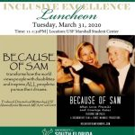 Renee Warmack and Sam Piazza featured at the USF Inclusion and Diversity Luncheon