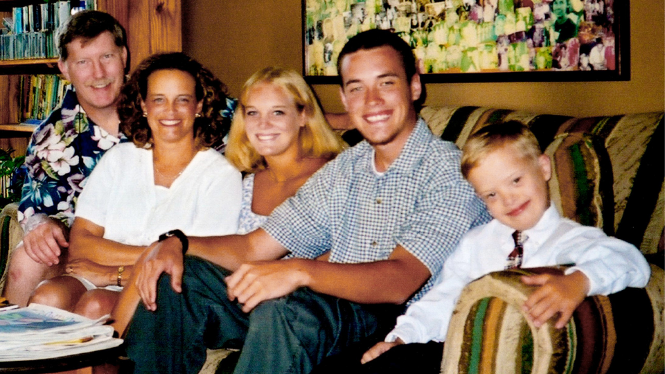 Sam Piazza and his Family in the documentary Because of Sam