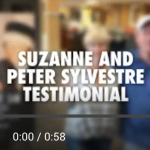 Suzanne and Peter Sylvestre Testimonial for the documentary Because of Sam