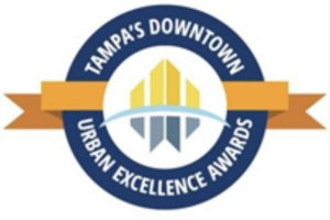 Tampa downtown partnership urban excellence award for Because of Sam